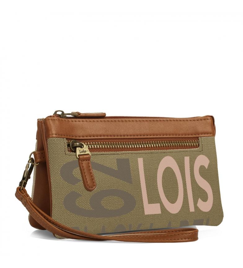 Comprar Lois Monedero Triple Lois Bismarck color beig -9x17,5x3-