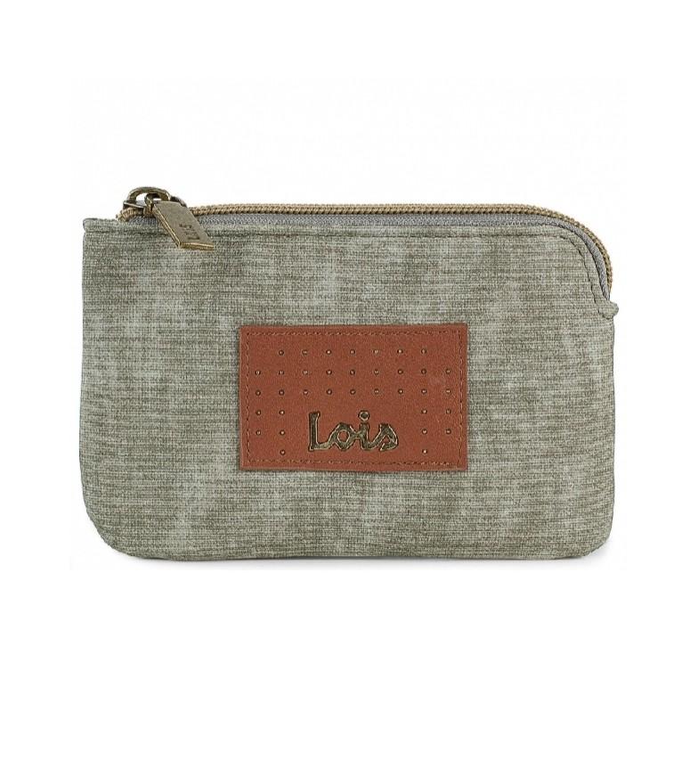 Comprar Lois Coin purse 306207 -13x8,5x1,5cm- taupe