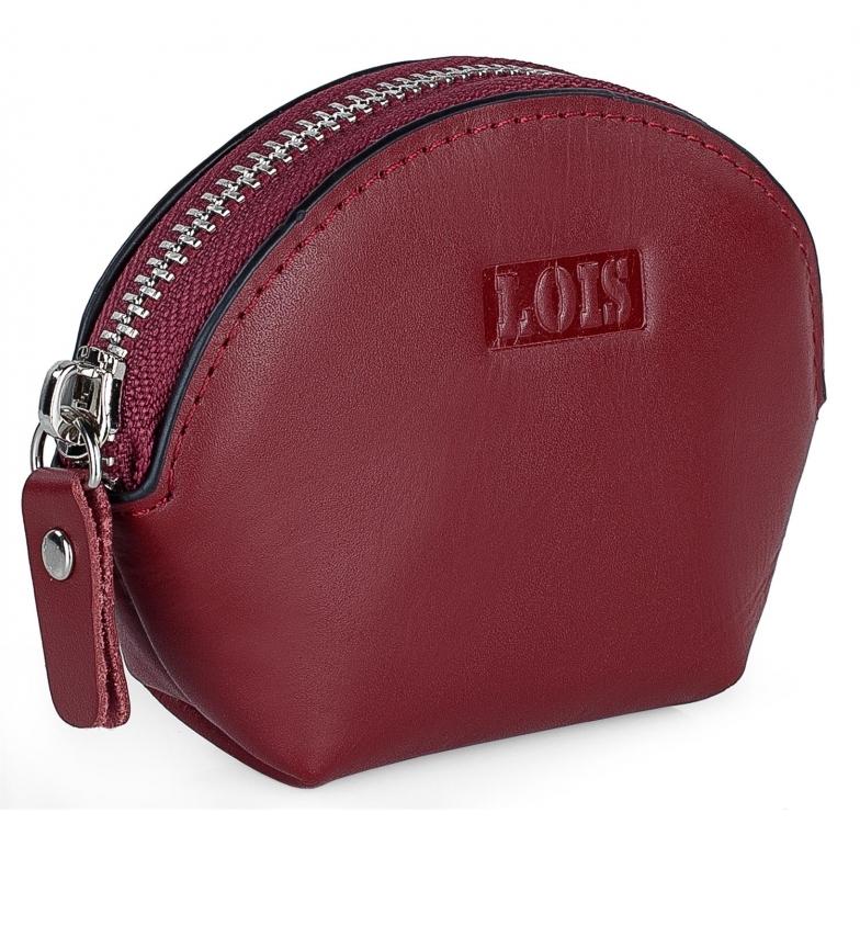 Comprar Lois Leather purse 202054 red -11x8,5x3,5cm