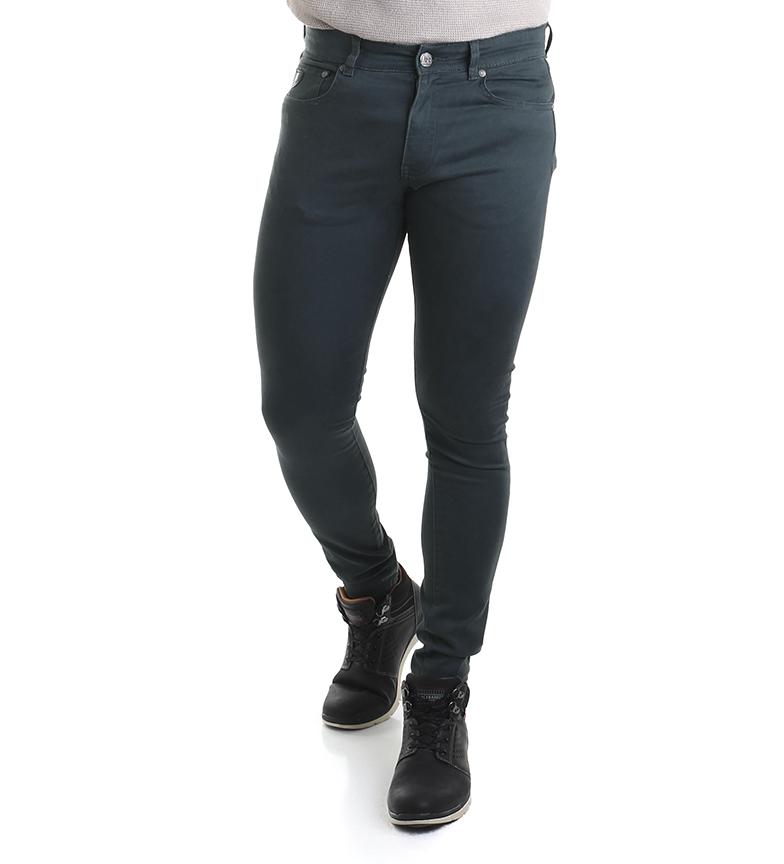 Comprar Lois Dinheiro calças verdes -Super Skinny