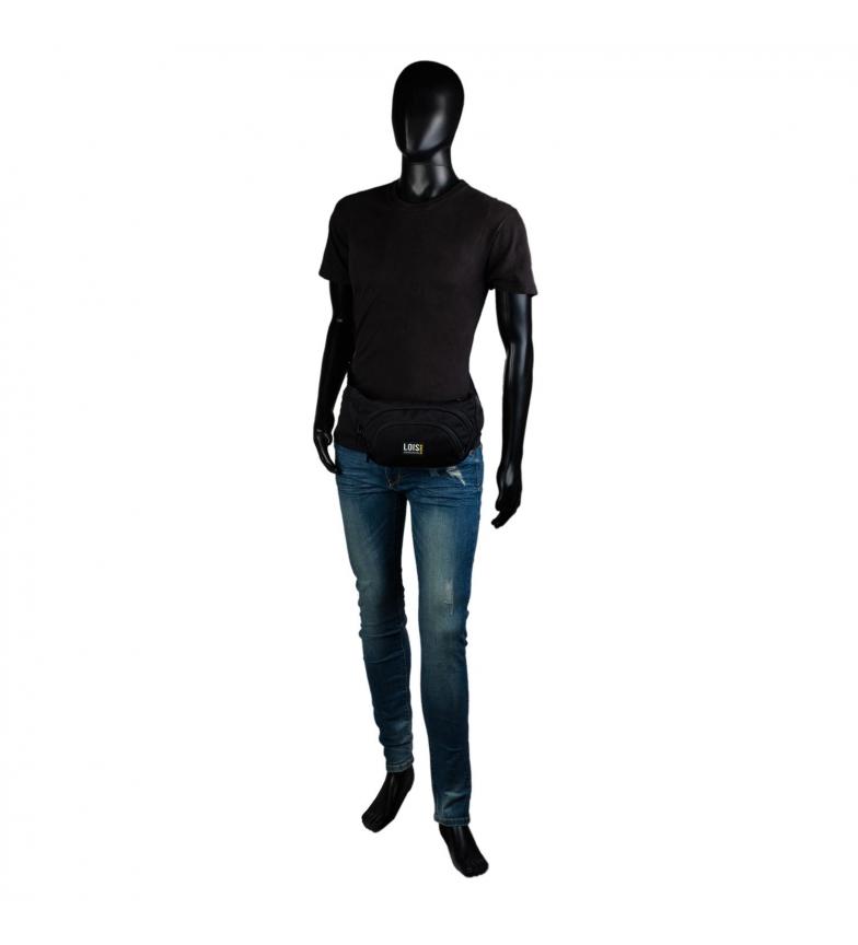 Comprar Lois Riñonera Deportiva  Multifuncional 305410  -32x15,5x6,5 cm- negro