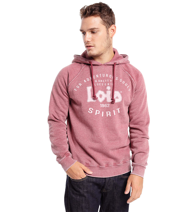 Comprar Lois Sweatshirt with red hood