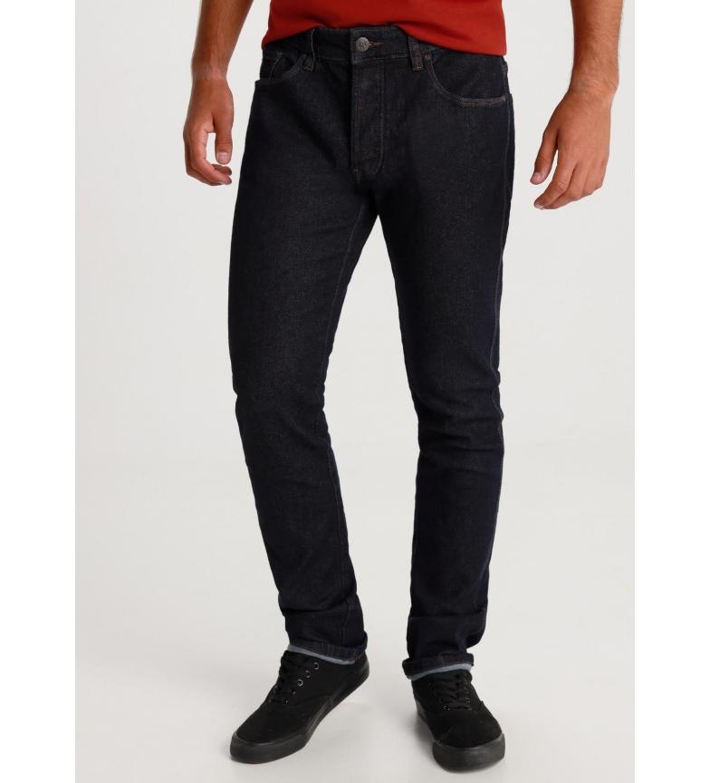 Lois Marvin Slim-Toronto Rinse Navy Blue Jeans