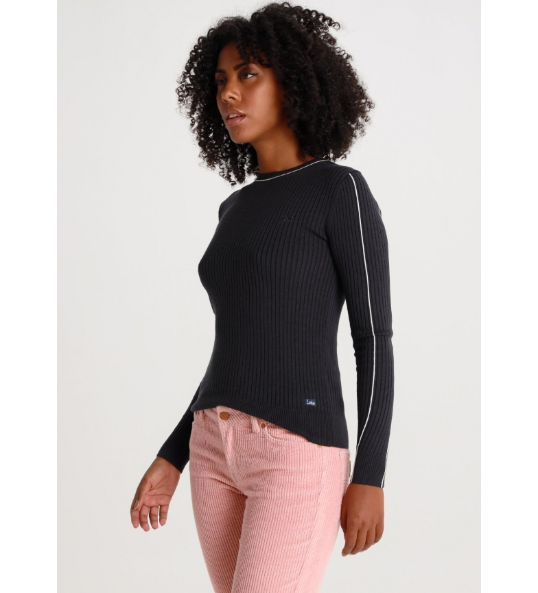 Lois Pullover Pine-North Contrast navy