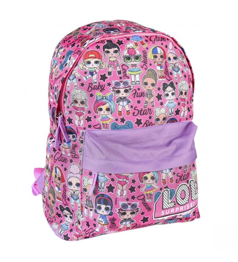 Comprar LOL Borsa scuola Lol rosa -30x41x14cm