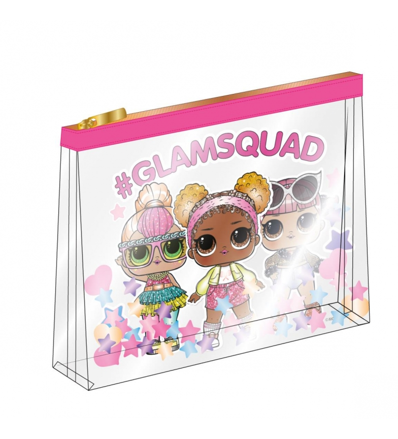 Comprar Cerdá Group Set borsa da toilette Lol rosa -23,0x17,5x7,0cm