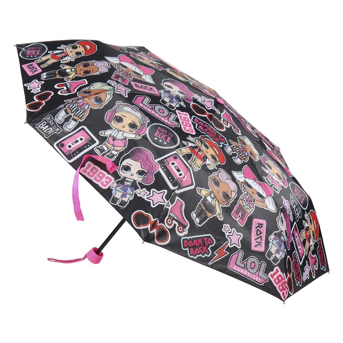 Comprar LOL Parapluie pliable manuel Lol noir