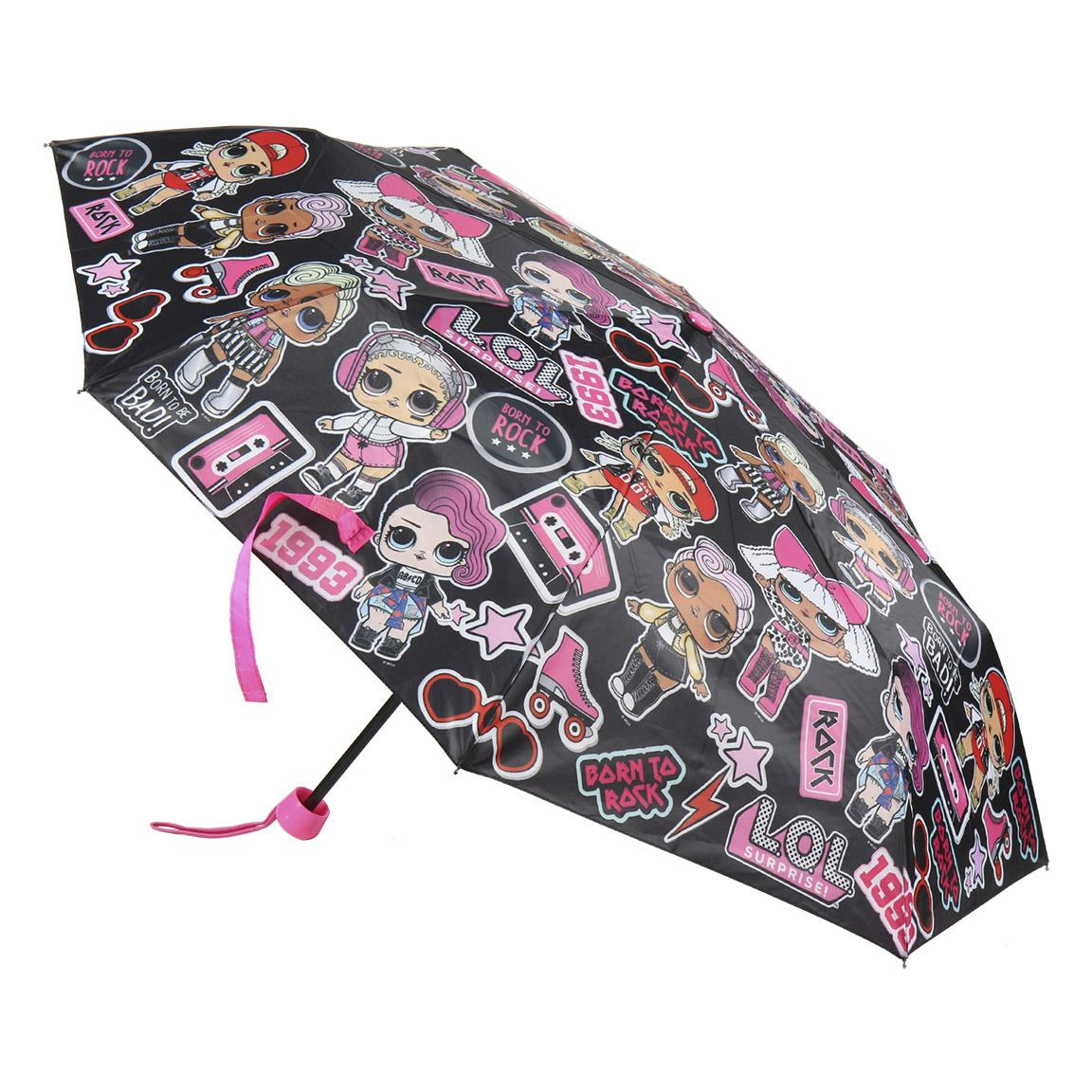 Comprar LOL Guarda-chuva dobrável manual Lol preto