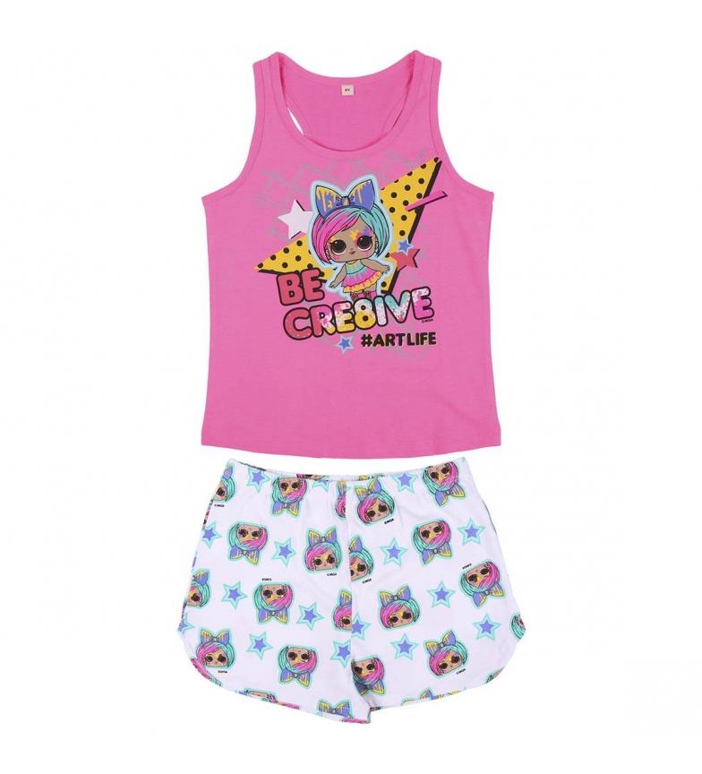 Comprar Cerdá Group Short de pyjama à bretelles simples Lol pink