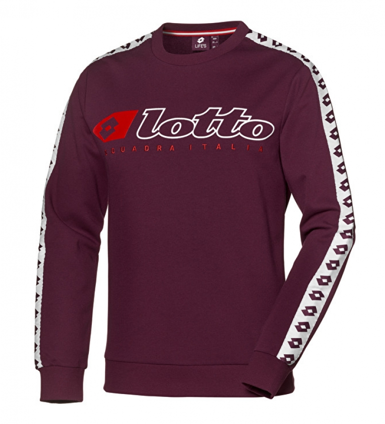 Comprar Lotto Athletica Due sweatshirt burgundy