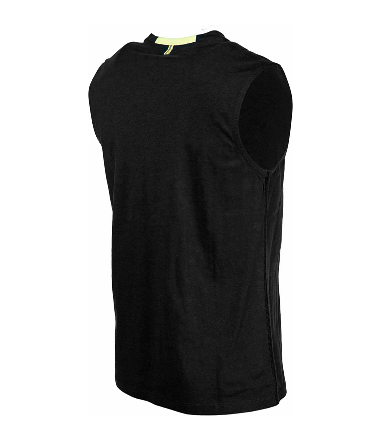 Lotto Camiseta Devin VI TEE SL Js negro