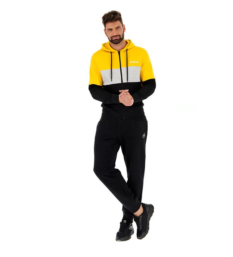 Comprar Lotto Diamond sweatshirt yellow, black