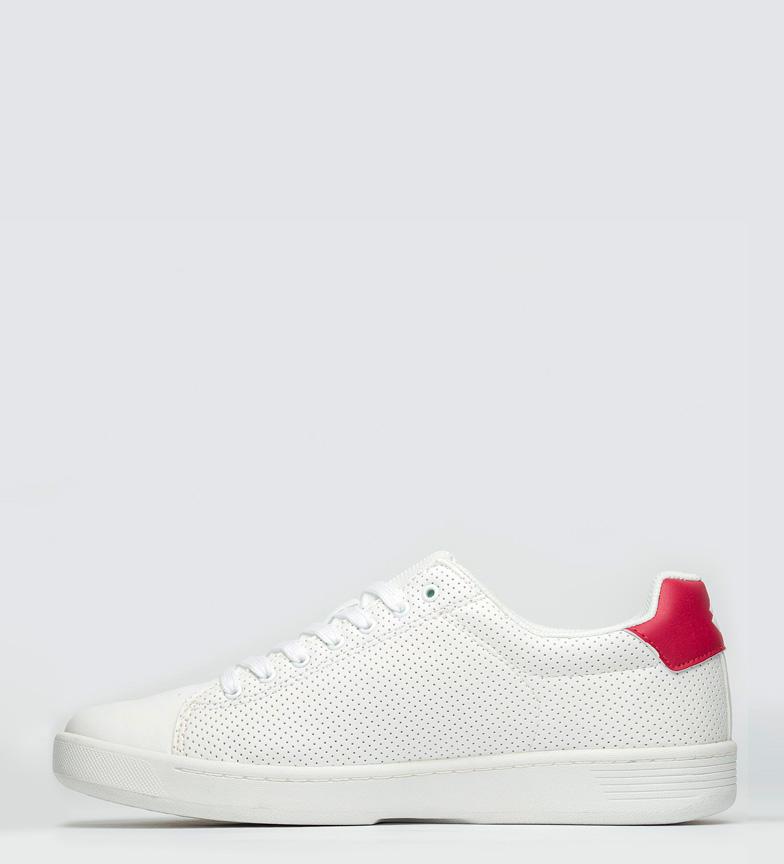 Lotto Zapatillas 1973 VII Micro blanco, rojo
