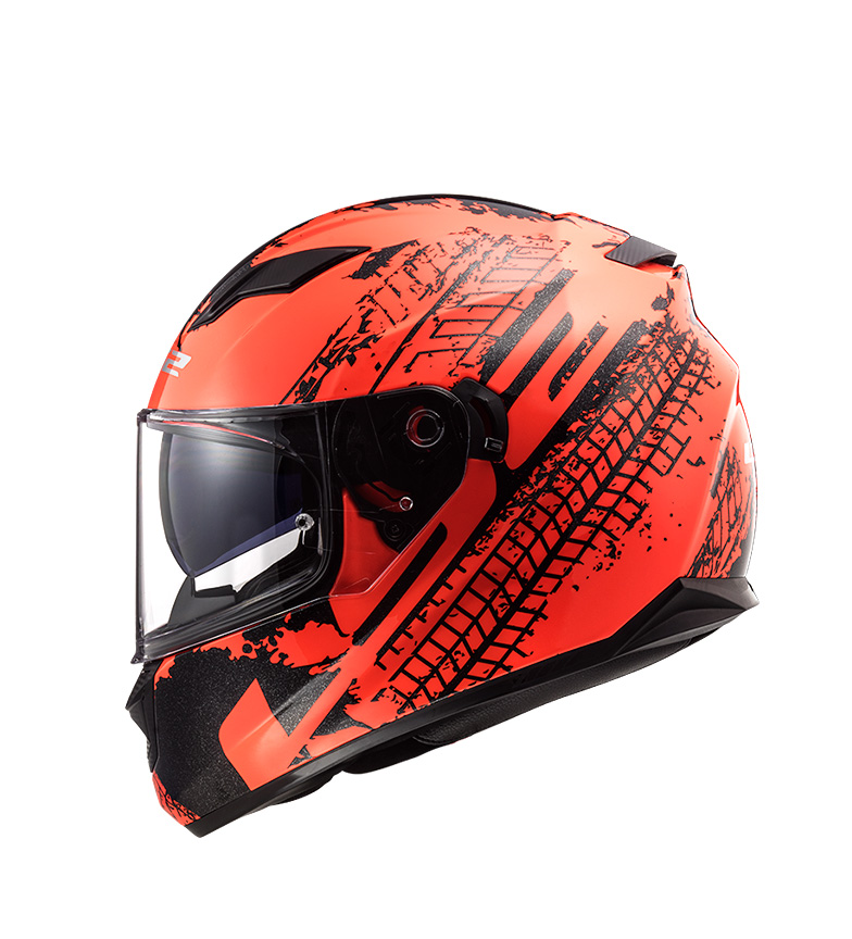 Comprar LS2 Helmets Fluxo de capacete integral Evo FF320 Lava Fluor laranja, preto