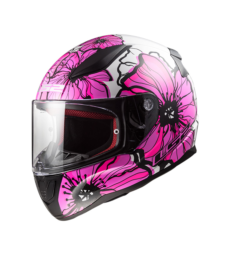 Comprar LS2 Helmets Casco integral Rapid FF353 Poppies Pink