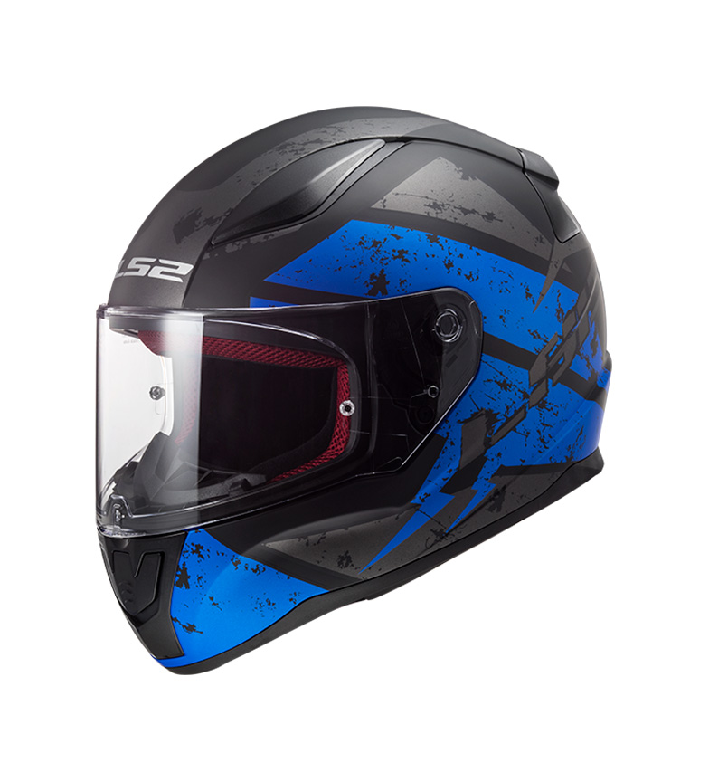 Comprar LS2 Helmets Casco integral Rapid FF353 Deabolt Matt Black, Blue