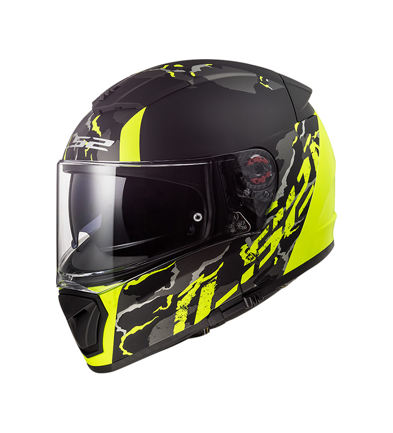 Comprar LS2 Helmets Breaker FF390 Feline Matt Hi Vis Yellow Pinlock Max Vision included