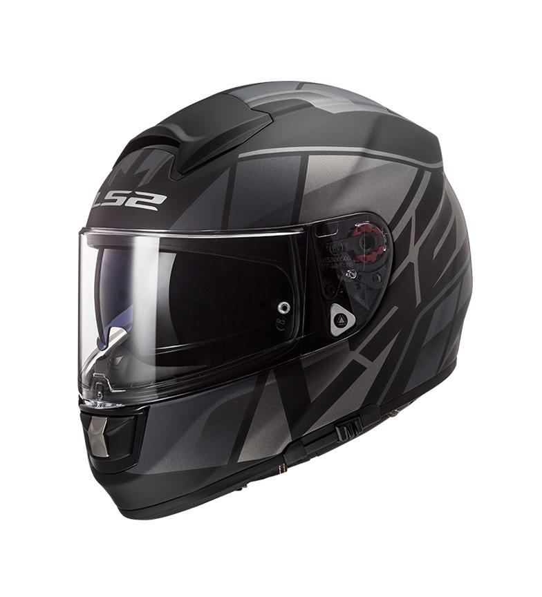 Comprar LS2 Helmets Integral Capacete Vector Evo Kripton Matt Preto Titan Pinlock Max Vision incluído