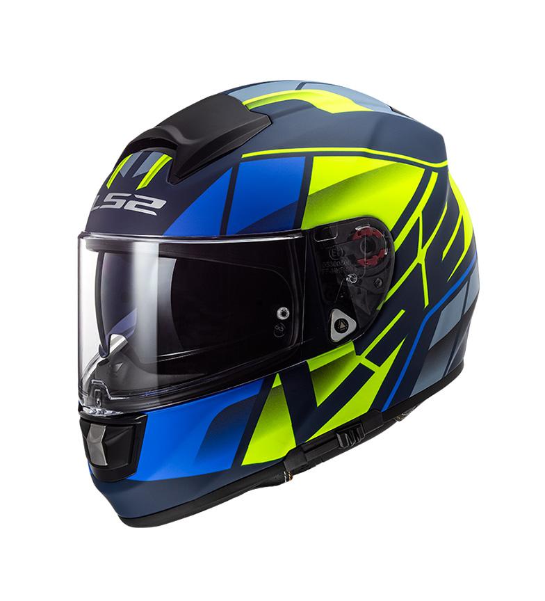 Comprar LS2 Helmets Integral helmet Vector Evo krypton Matt Blue Hi Vis Pinlock Max Vision included
