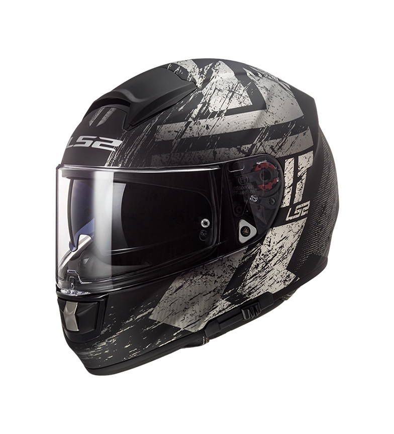 Comprar LS2 Helmets Integral Capacete Vector Evo Hunter Matt Black Titânio Pinlock Max Vision incluído