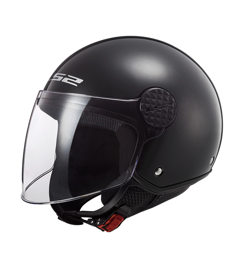 Comprar LS2 Helmets Casco Jet Sphere OF558 Gloss Black