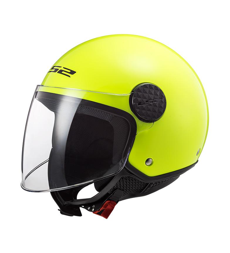 Comprar LS2 Helmets Casque Jet Sphere OF558 Gloss Hi Vis Jaune