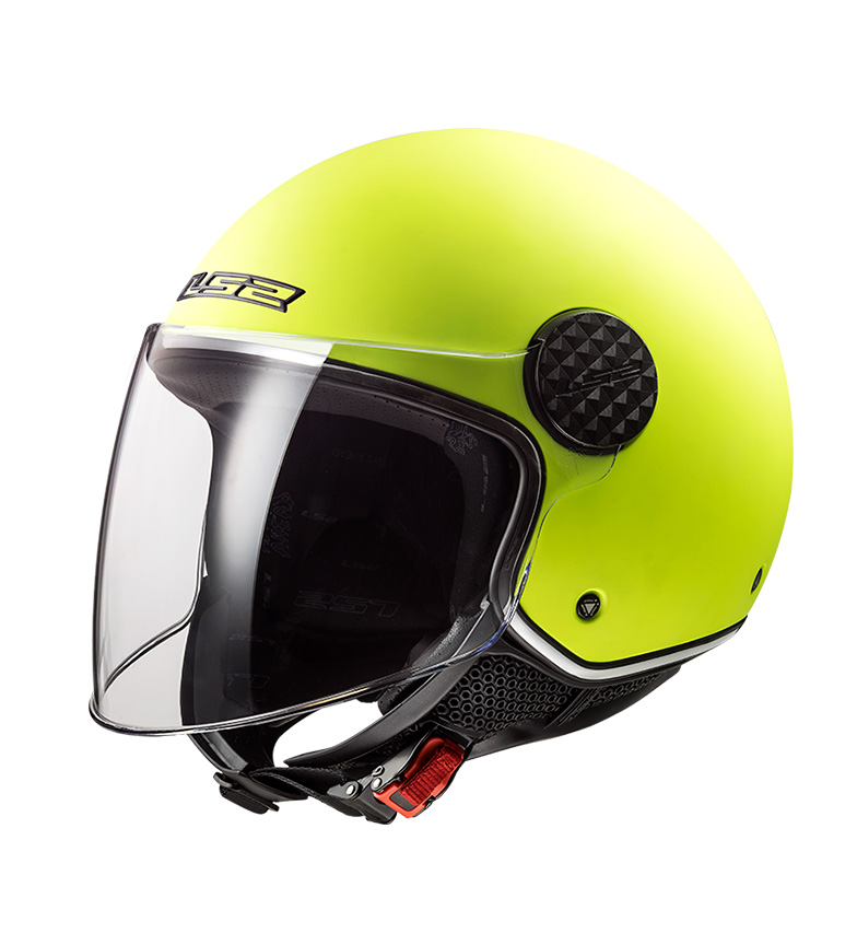 Comprar LS2 Helmets Casco Jet Sphere OF558 Lux Matt Hi Vis Yellow