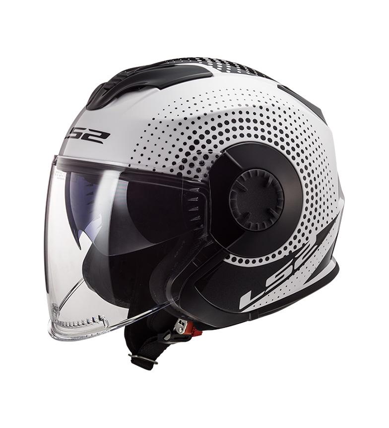 Comprar LS2 Helmets Jet Helmet Verso OF570 Spin White Black
