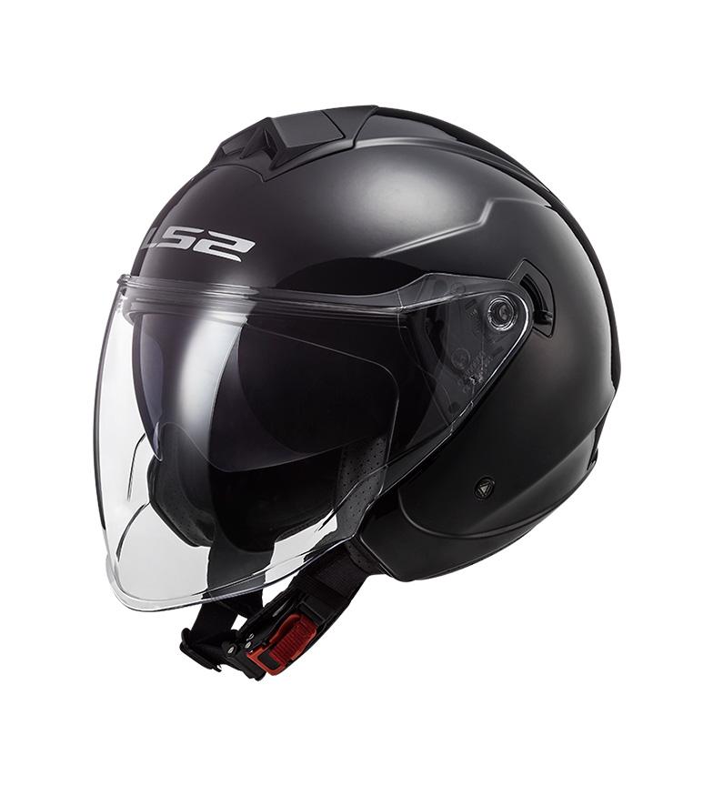 Comprar LS2 Helmets Capacete Jet Twister II OF573 Mono Mono Gloss Preto
