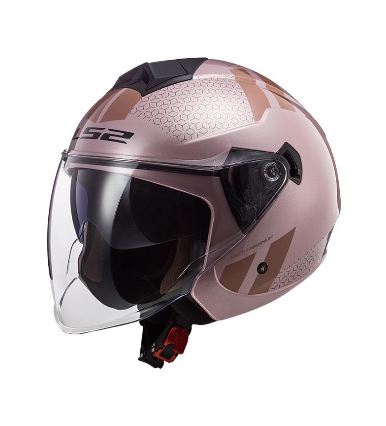Comprar LS2 Helmets Jet casco Twister II OF573 Combo rosa pallido Jet Twister II OF573 Combo Pale Pink