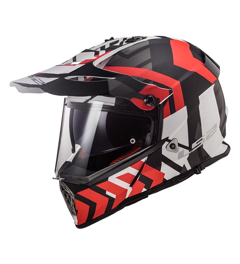 Comprar LS2 Helmets Casque Motocross Pioneer MX436 Xtreme Xtreme Noir Mat Noir Rouge
