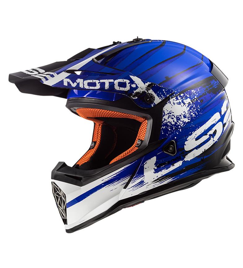 Comprar LS2 Helmets Casco Motocross Fast MX437 Gator Blue