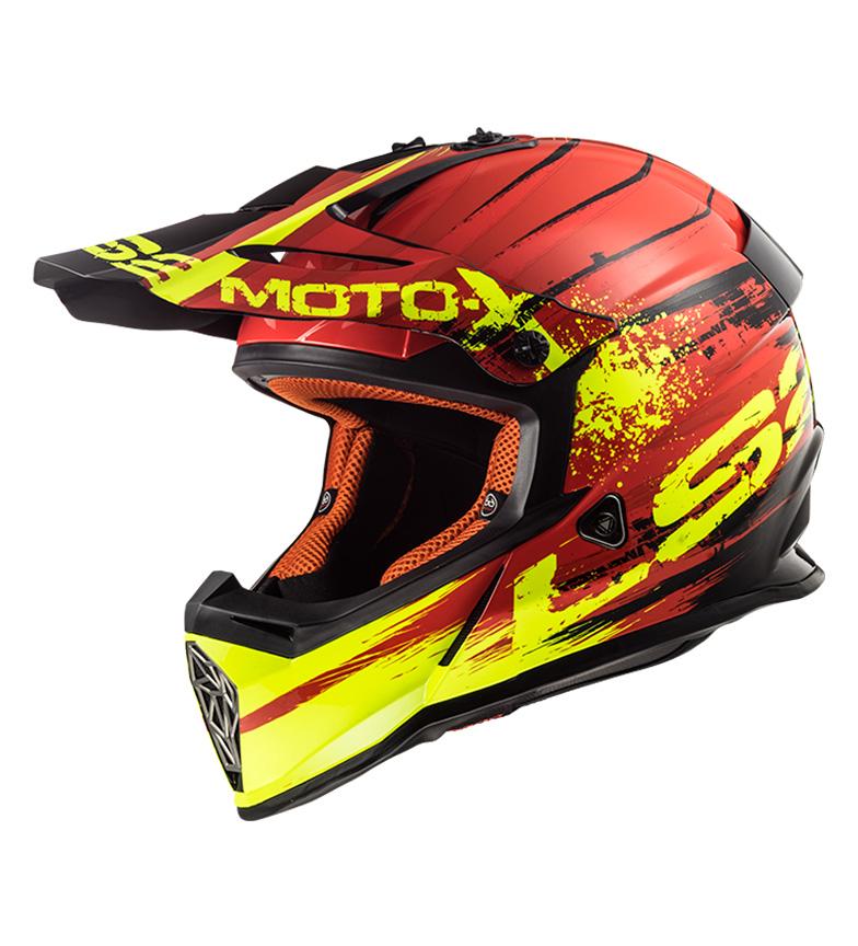 Comprar LS2 Helmets Casco Motocross Fast MX437 Gator Red