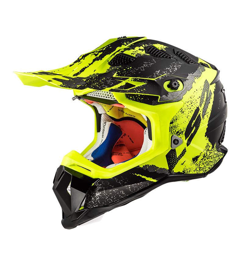 Comprar LS2 Helmets Motocross casco Subverter MX470 Claw MX470 artiglio nero opaco Hi Vis