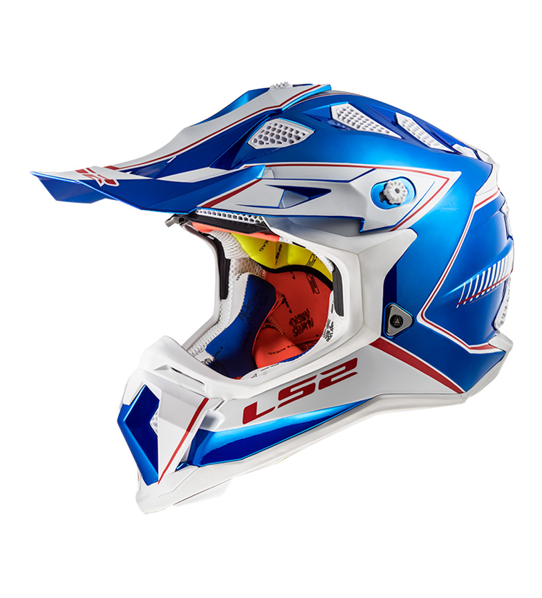 Comprar LS2 Helmets Casco Motocross Subverter MX470 Power Chrome Blue