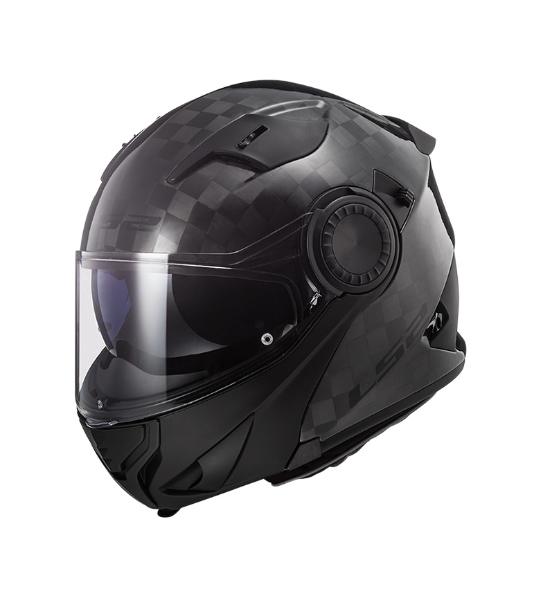 Comprar LS2 Helmets Capacete modular Vortex FF313 Carbono Gloss P / J - Pinlock included -