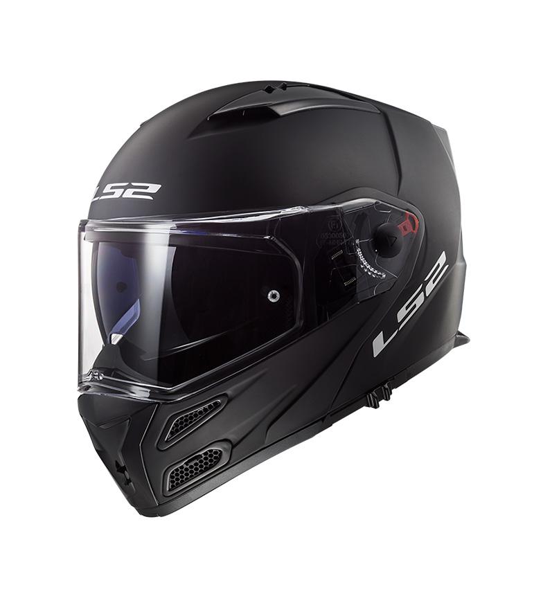 Comprar LS2 Helmets Casco modular Metro FF324 Matt Black P/J -Pinlock Max Vision incluido -