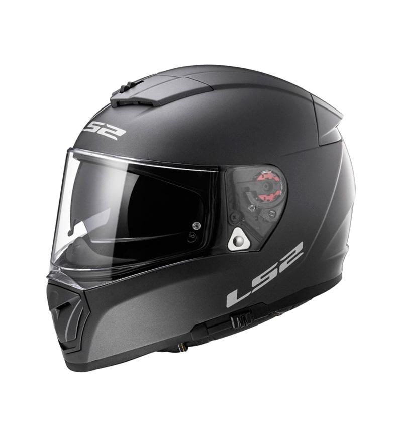 Comprar LS2 Helmets Casco integral  Breaker FF390 Physics Matt Black Titanium Pinlock Max Vision incluido