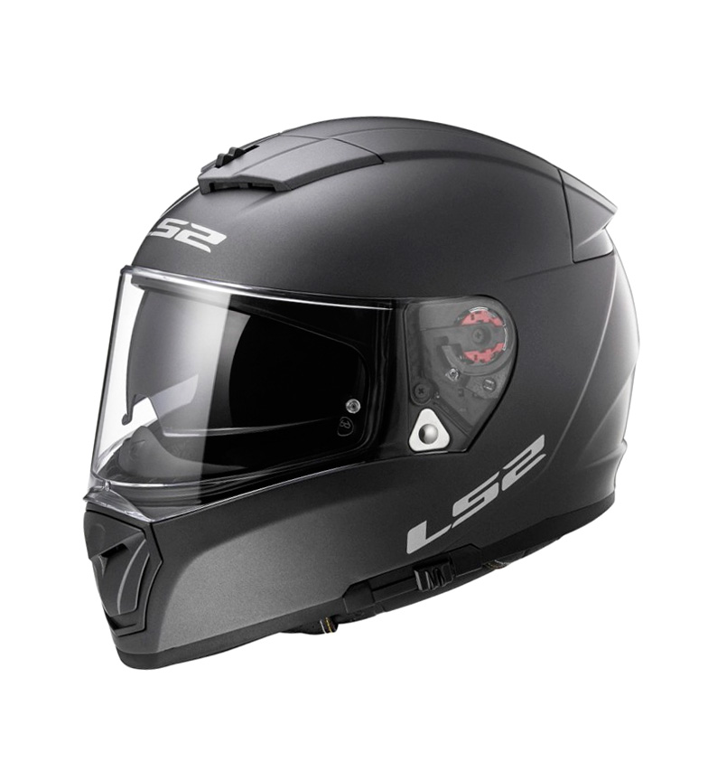 Comprar LS2 Helmets Briseur Intégral FF390 Casque Physique Matt Black Titanium Pinlock Max Vision inclus