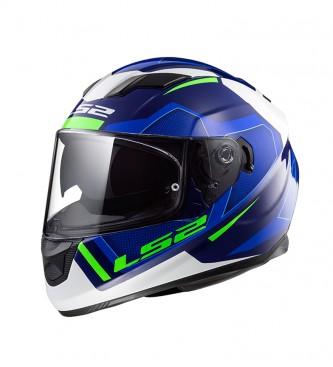 Comprar Ls2 Helmets Casco Integral Stream Evo Ff320 Axis White Blue