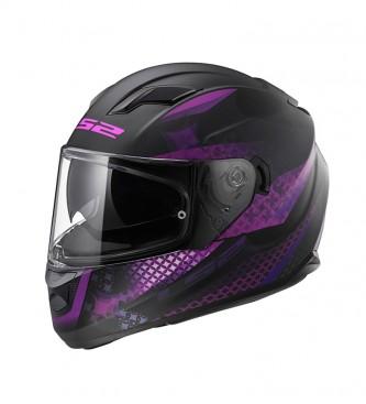 Comprar LS2 Helmets Casco integral Stream Evo FF320 Lux Matt Black Pink