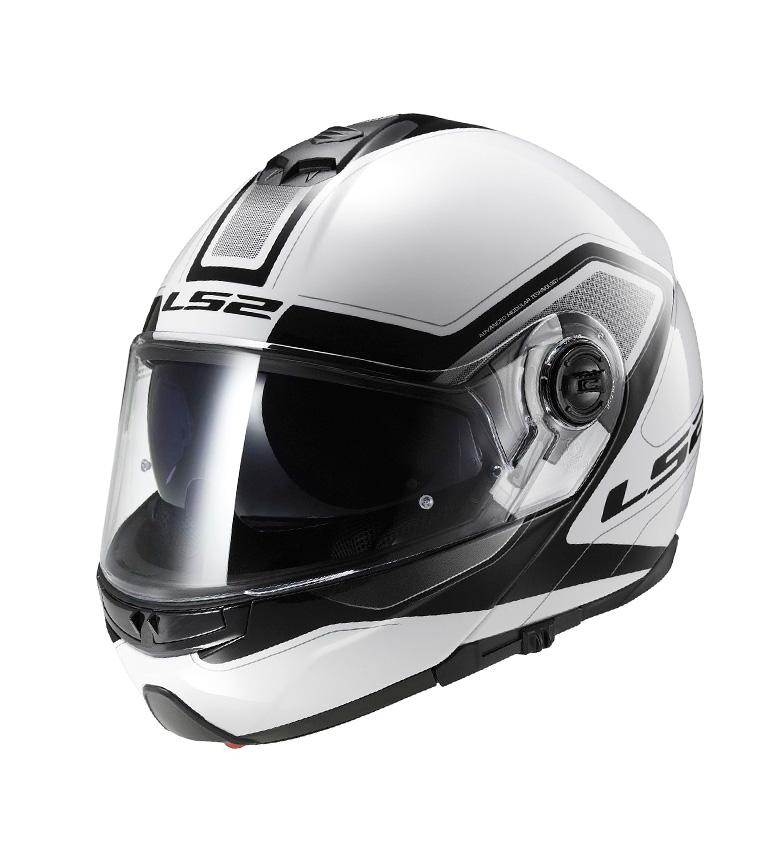 Comprar LS2 Helmets Modular helmet Strobe FF325 Civik White Black