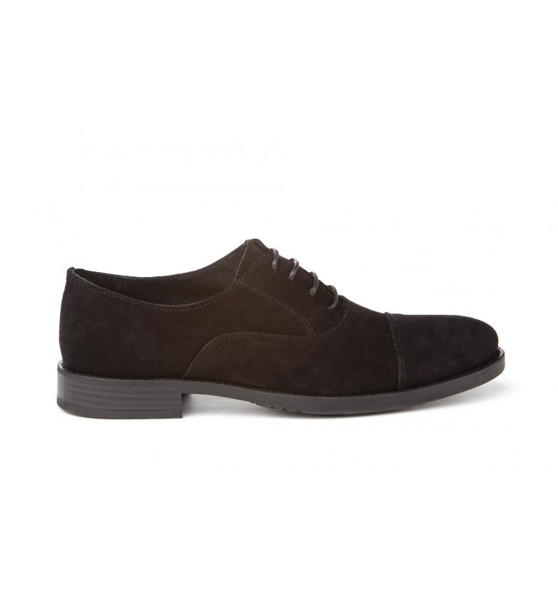 Mañas Zapatos de piel 2970 negro