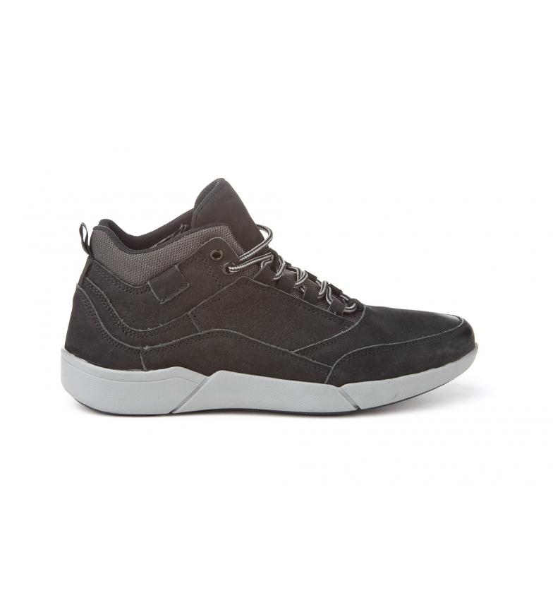 Mañas Zapatillas de piel 3088 negro