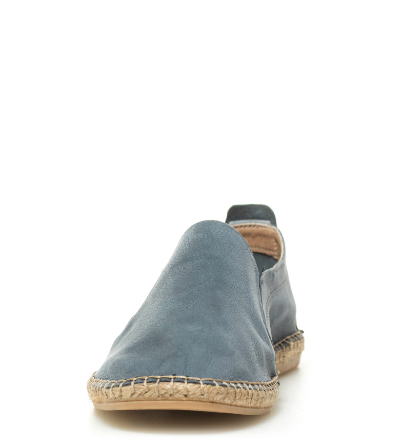 Macarena Alpargatas de piel Iker 17 jeans
