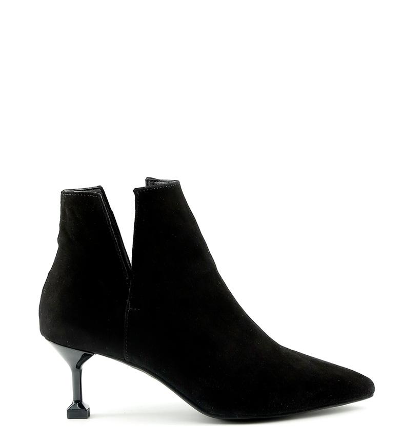 Comprar Made In Italia Zoe botas de couro preto calcanhar -Altura: 6cm-