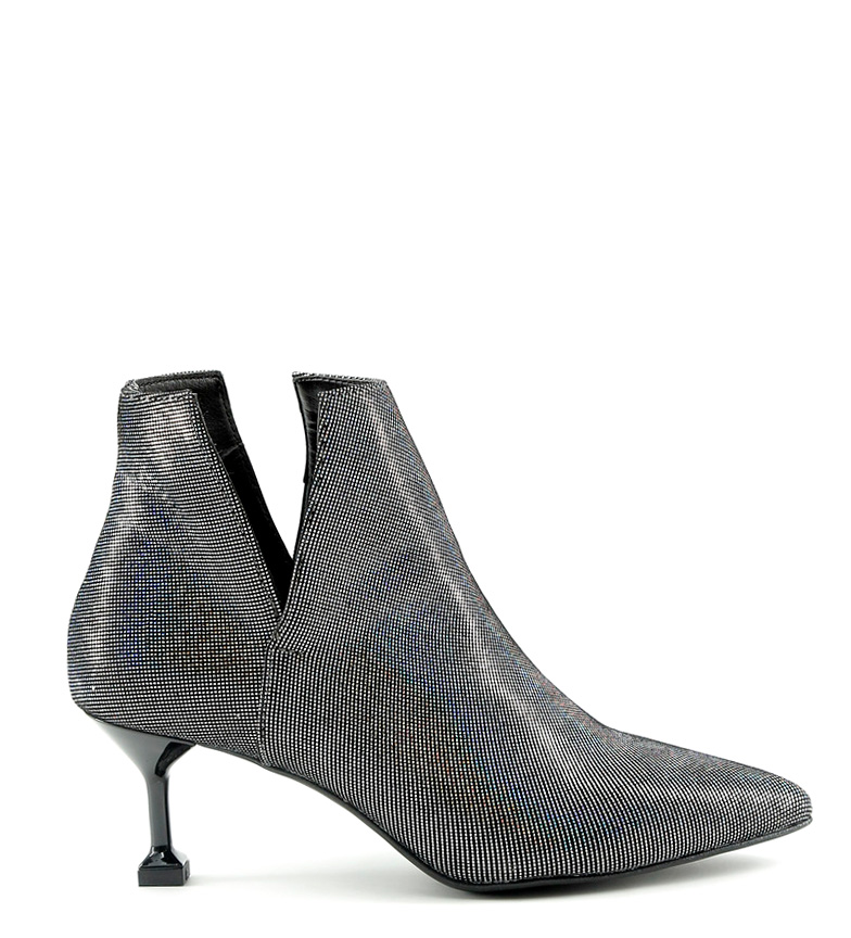 Comprar Made In Italia Zoe lead leather boots - Heel height: 6cm-