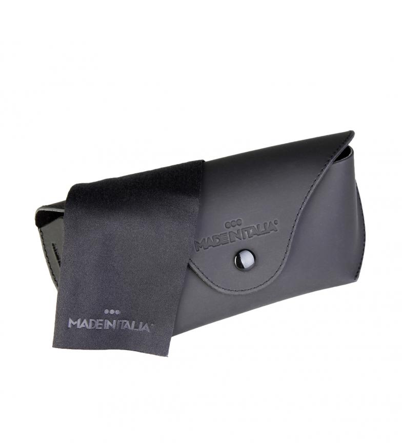 Made-In-Italia-Occhiali-da-sole-neri-Otranto-Uomo-Blu-Nero-Marrone-Nylon miniatura 10