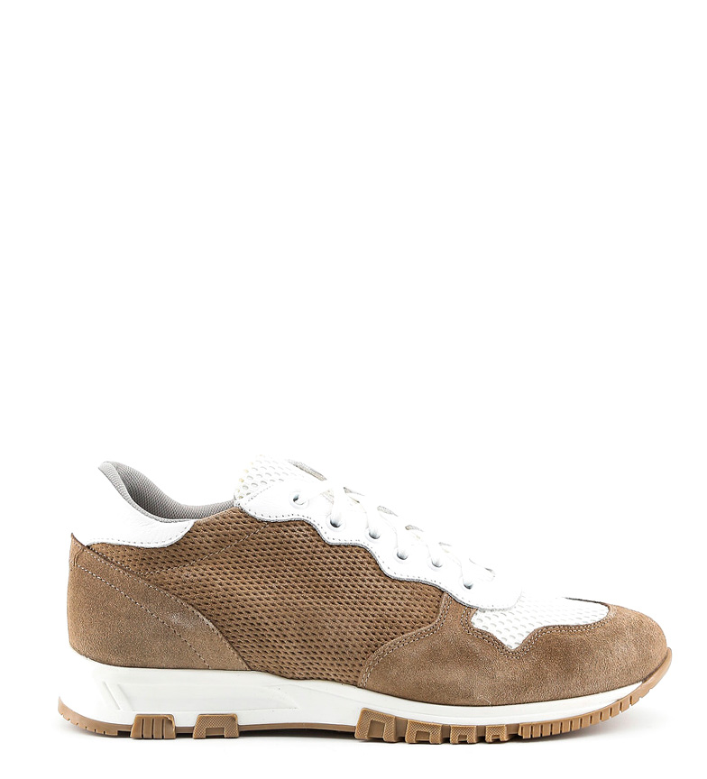 Comprar Made In Italia Raffaele beige leather sneakers