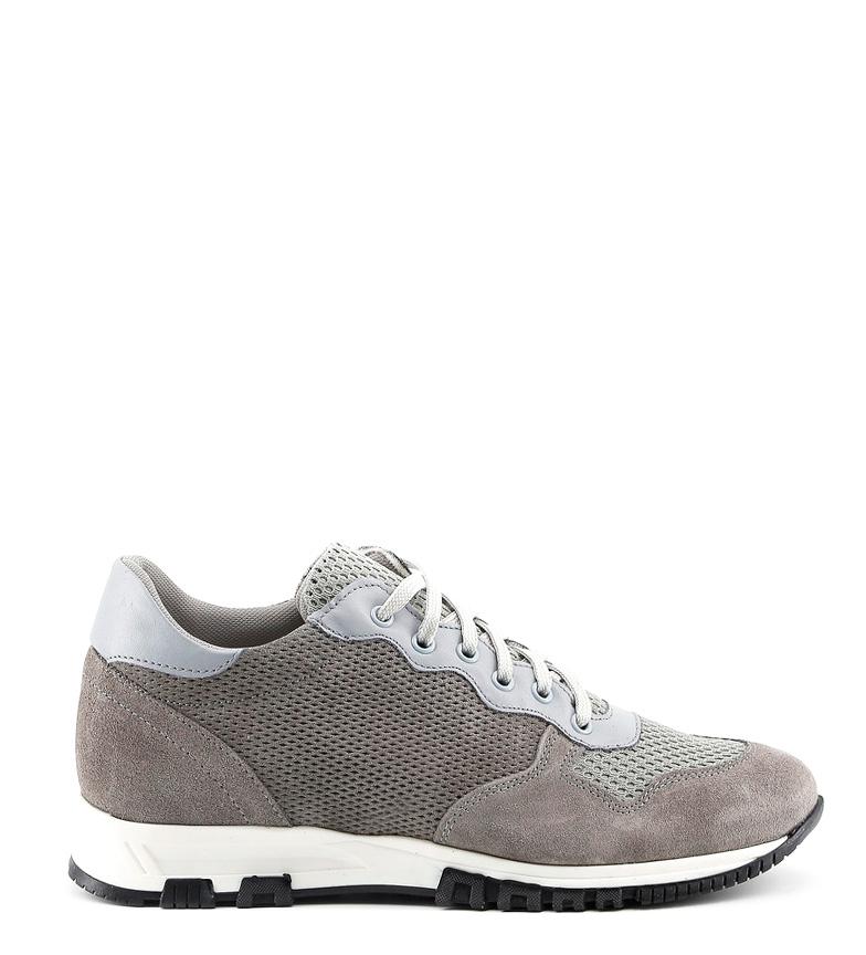 Comprar Made In Italia Zapatillas de cuero Raffaele gris
